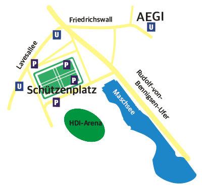 Anfahrt AGV